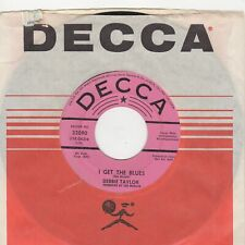Debbie Taylor I Get The Blues Decca Demo Soul Northern Rocksteady
