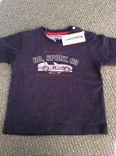BNWT Boys Blue T-Shirt By Designer Miniman (12 Mths) FREE UK P&P *RRP £18*
