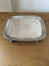 ANTIQUE SOLID SILVER SALVER GEORGE III LONDON 1809