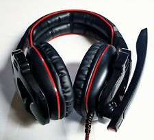 Sades SA-903 Professional Gaming Red & Black Headset / Headphones / Earphones