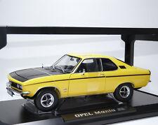 Opel Manta A SR 1970 gelb schwarz yellow black jaune noir Norev 183625 1:18