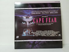 Cape Fear Letterbox Laserdisc Movie