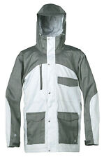 Quiksilver TRAVIS RICE ROGER THAT 15K Mens Snowboard Jacket Med. Anthracite NEW