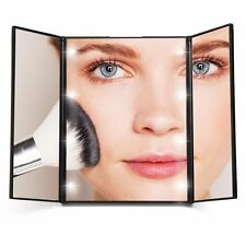 Lighted Makeup Mirror LuckyFine LED Large Touch Screen Light Illuminated