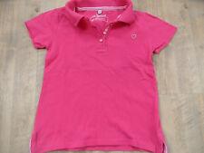 FRENDZ schönes Poloshirt pink bio cotton Gr. 122 TOP BI418