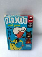 1959 OLD MAID DECK PLAYING CARDS IN ORIG BOX WITH INSTRUCTIONS COMPLETE