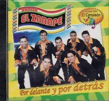 Banda Zarape Por delante y Por Detras CD New Nuevo Sealed