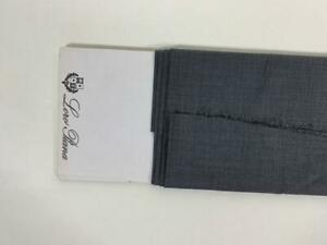 "LORO PIANA italy SUPER 160s 15.5 MICRON SUPERFINE WOOL SUITING 69"" 1.75m"