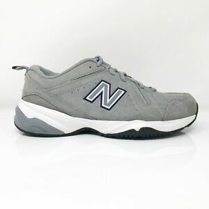 New Balance Mens 619 MX619GR1 Gray Running Shoes Lace Up Low Top Size 8.5 4E