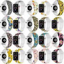 Silicon Sport Watch Band Strap for Apple Watch iWatch Series 4 3 40mm 44mm 42mm