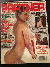 Partner Adult Magazine December 1979,Dyan Cannon, Vol 1, No 7