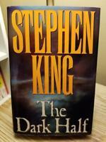 The Dark Half by Stephen King 1989 1st Edition 1st Print Hardcover DJ VG Cond!!