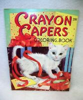 Vintage Crayon Capers Coloring Book - Landall Publishing