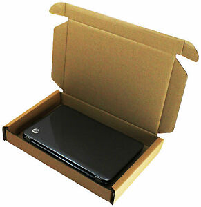 LAPTOP SHIPPING MAIL POSTAL STRONG DOUBLE WALL CARDBOARD BOX SCREEN ☆ 47x31x6cm