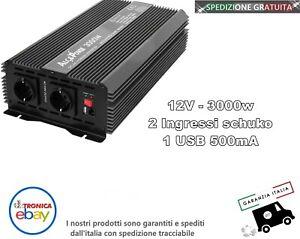 Inverter Soft Start 3000W Input 12V DC Out 230V AC - AlcaPower 912200