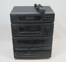 Panasonic Compact Audio System SA-DH30 CD Player Cassette Deck AM FM Stereo