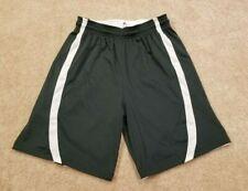 Badger Sports Adult Forest Green/White B-Slam Reversible Basketball Shorts, S