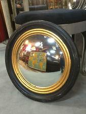 """Glace / miroir rond dit """"oeil de sorcière"""" style Napoléon III  Diam 51 cm"""