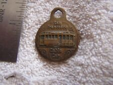 1948-1950 State California 100th Centennial Celebrations Medal Cable Car FOB