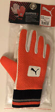 Puma evoSPEED 3 Chamios Padded Inner '15 Wicket Keeper Gloves Boys White/Orange