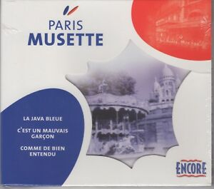 """Various """"Paris Musette"""" NEW & SEALED CD 16 Classic French Tracks Posted From UK"""