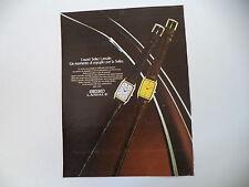 advertising Pubblicità 1981 OROLOGI SEIKO LASSALE