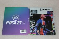 FIFA 21 Steelbook G2  SIZE STEELBOX METAL CASE NEW