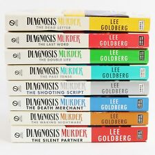 Diagnosis Murder by Lee Goldberg Lot of 8 Paperback Books Signet Publishers