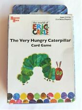 University Games Eric Carle The Very Hungry Caterpillar Card Game Used Complete