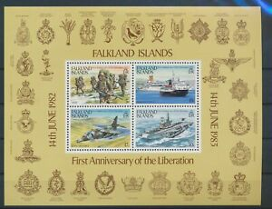 LO13175 Falkland Islands liberation anniversary good sheet MNH