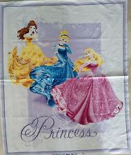 Brand New Disney Princess Cot Quilt Panel