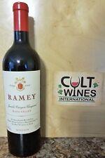 RP 96 pts! 2002 Ramey Jericho Canyon Cabernet Sauvignon Wine, Napa Valley