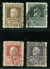 ITALY SCOTT# 193/96  USED AS SHOWN