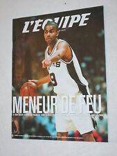 L EQUIPE MAGAZINE N° 1016  2001 TONY PARKER BASKET-BALL  SAN ANTONIO  FRANCE