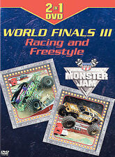 Monster Jam World Finals III - Racing and Freestyle (DVD, 2005) MINT!