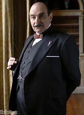 PHOTO HERCULE POIROT – DAVID SUCHET (P1) FORMAT 20X27CM