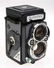 Brand new Rollei/Rolleiflex TLR platinum 2.8 FX prototyp camera in grey 2.8F