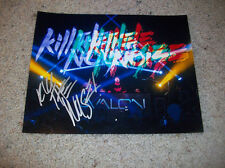 KILL THE NOISE SIGNED AUTOGRAPH EWUN 8x10 PHOTO PHOTO E DJ JAKE STANCZAK