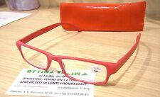 Occhiali per Lettura Reading Glasses Polaroid R964 A +1.00 Rosso opaco