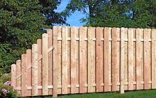 Sich-& Lärmtschutz  Zaun Lärche 180cm x 180cm  - Köpfe halbrund, Staketenzaun
