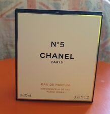 Chanel N.5 Eau De Parfum Chanel Originale 3 X 20 ml.