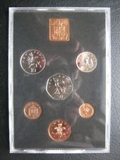 UK Great Britain 1978 6 Coin Proof set 1/2 - 50 Pence ~ Royal Mint ~ No Envelope