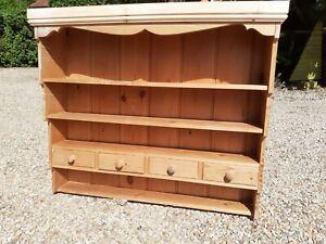 Pine Shelf Shelves Dresser Top Bookcase Display