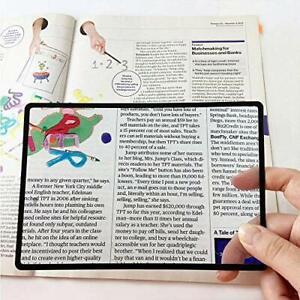 MagniPros Premium 3X 300% Page Magnifying Lens with 3 Bonus Bookmark Magnifie...