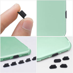 50pcs Charging Port Silicone Dust Plugs for Tablets Smart Phones