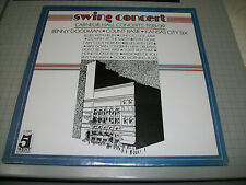 Swing Concert Carnegie Hall Concerts 1938/39 Benny Goodman Count Basie NEW LP