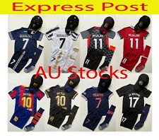 Express  #7 Ronaldo #10 Messi #11 M.Salah #7 Mbappe #17 Bruyne Soccer jersey Set