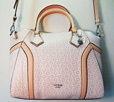 NEW GUESS Averell CROSSBODY Satchel Handbag Light Rose PINK