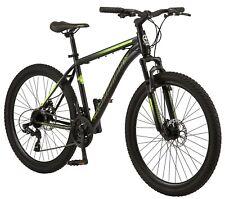 Schwinn Sidewinder Mountain Bike, 26-inch wheels, 21 speeds, black, mens style.N