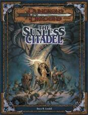 Dungeons and Dragons The Sunless Citadel Cordell 2000 d20 SC D&D Module 3.5 3.0